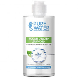 Средство для мытья посуды гипоаллергенное Pure Water 450 мл