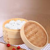 Бамбуковая пароварка Real Tang Bamboo Steamer | Диаметр 18 см