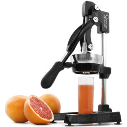 Соковыжималка Sana Citrus Press Black ручная для цитрусов
