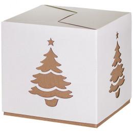Коробка подарочная Ёлочка 22 см