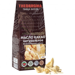 """Какао-масло сырое Theobroma """"Пища Богов"""" 250 г"""