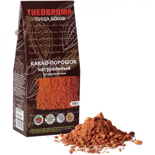 Сырой какао порошок Пища Богов Theobroma 100 г