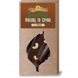 Шоколад из Кэроба необжаренного с кешью CacaoMalo CacaoMalo, 85 г