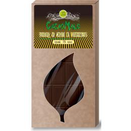 Шоколад на сиропе из топинамбура CacaoMalo, 70 г