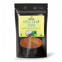 Сахар кокосовый органический BonCocos 200 г
