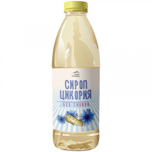 Натуральный сироп цикория Дары Памира, 60% инулина, 1 литр | Бельгия
