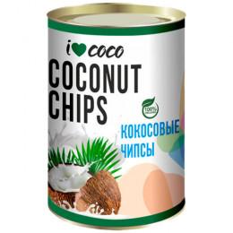 Чипсы кокосовые органические I Love Coco 200 г