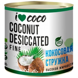 Стружка кокосовая органическая I Love Coco Fine 100 г