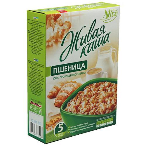 Пшеничная каша VITA из пророщенного зерна 300 г | Алтай