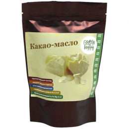 Какао-масло Green and Happy 200 г
