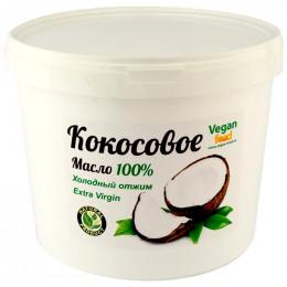 Масло кокосовое нерафинированное Vegan food 5 л