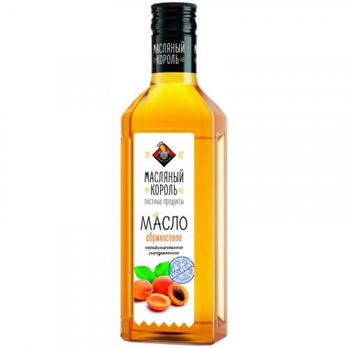 Сыродавленное нерафинированное масло абрикосовых косточек Масляный король 250 мл
