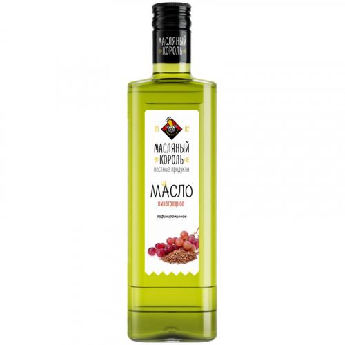 Рафинированное масло из виноградных косточек Масляный Король 350 мл