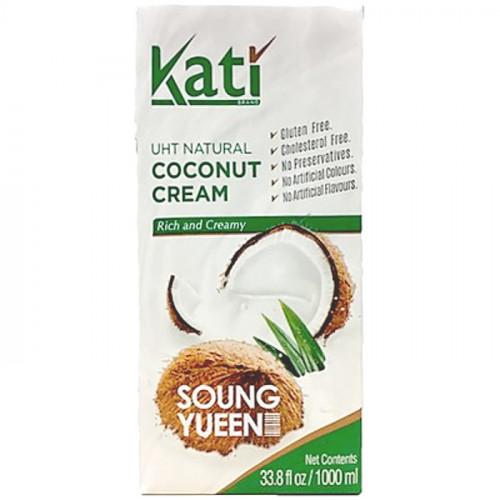 Кокосовые сливки KATI 24% (Вьетнам) 1000 мл | Содержание кокоса 99.9%