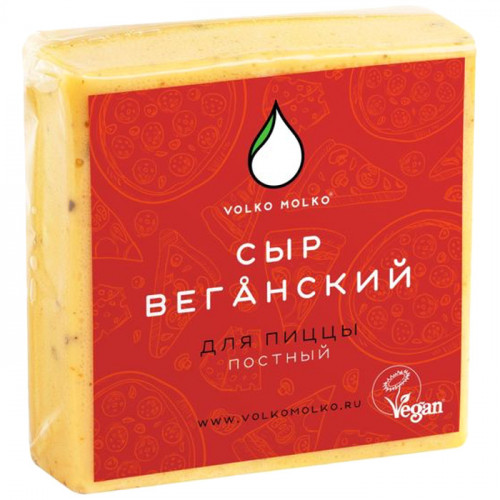 Веганский (постный) сыр для пиццы VOLKO MOLKO 280 г