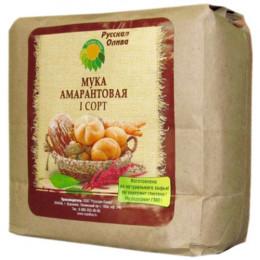 Мука амарантовая высокобелковая Русская Олива 1 кг