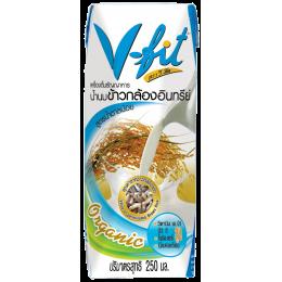 """Молоко из бурого риса без сахара """"V-Fit"""" 250 мл"""