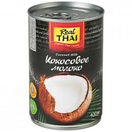 Молоко кокосовое Real Thai 400 мл