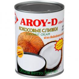 Сливки кокосовые Aroy-D 21% 560 мл