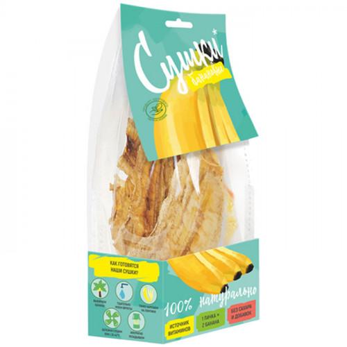 Фруктовые сушки Банановые PastiLab без сахара 40 г