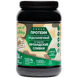 "Протеин подсолнечный ""Ирландские сливки"" Green Proteins 1000 г"