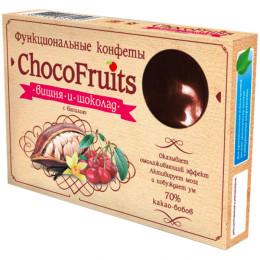 Конфеты ChocoFruits Вишня и шоколад с ванилью 90 г