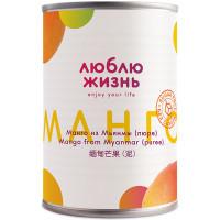"""Манго пюре без сахара """"Люблю Жизнь"""" 430 г"""