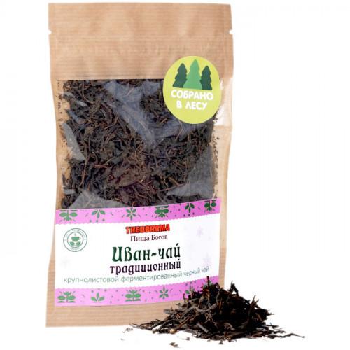 Крупнолистовой ферментированный иван-чай без добавок Чайная Трапеза 30 г
