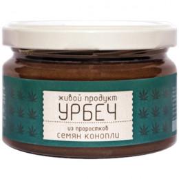 Урбеч из проростков конопли Живой продукт 225 г