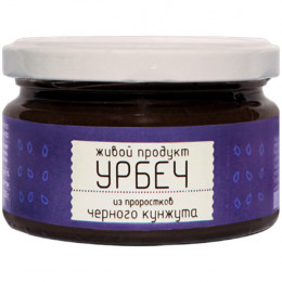 Урбеч из проростков черного кунжута Живой Продукт 225 г