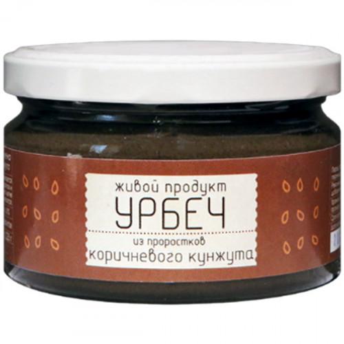 Урбеч из пророщенных семян коричневого кунжута Живой Продукт 225 г