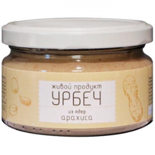 Арахисовый урбеч Живой Продукт без сахара 225 г (Дагестан)