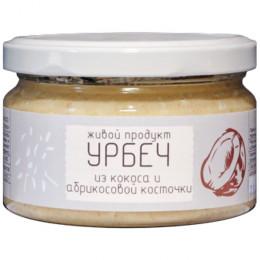 Урбеч из мякоти кокоса и абрикосовой косточки Живой Продукт 225 г