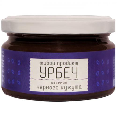 Урбеч из чёрного кунжута Живой Продукт 225 г (Дагестан)