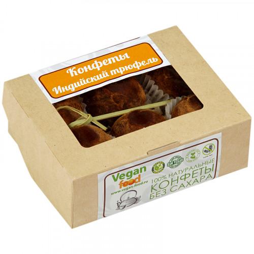 Сыроедческие конфеты Индийский трюфель Веганфуд 120 г | 6 конфет по 20 г