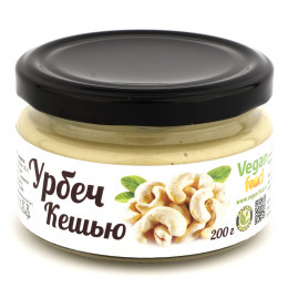 Урбеч из ядер кешью Vegan food 200 г