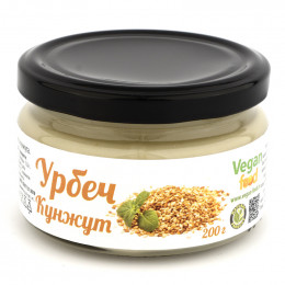 Урбеч из семян светлого кунжута Vegan food 200 г