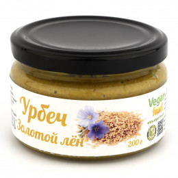 Урбеч из семян золотого льна Vegan food 200 г