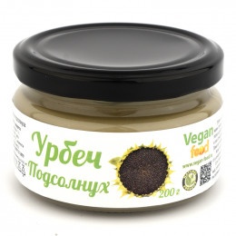 Урбеч из семян подсолнуха Vegan food 200 г