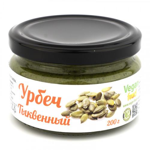 Сыроедческий урбеч из семян тыквы Vegan food 200 г