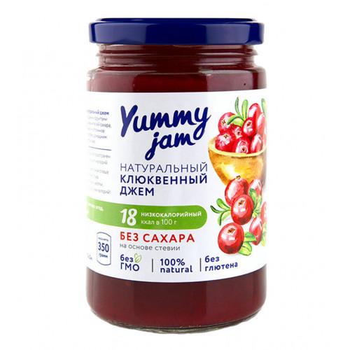 Джем низкокалорийный Yummy Jam  клюквенный, 350 г