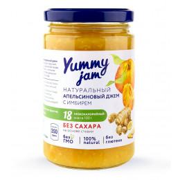 Джем низкокалорийный Yummy Jam апельсиновый, 350 г