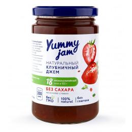 Джем низкокалорийный Yummy Jam клубничный, 350 г
