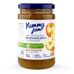Джем низкокалорийный Yummy Jam яблочный, 350 г