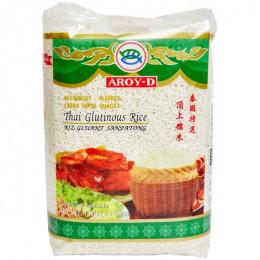 Рис тайский клейкий Aroy-D 1 кг