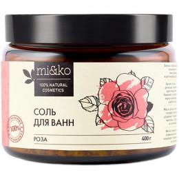 Соль для ванн Роза Mi&Ko 400 г