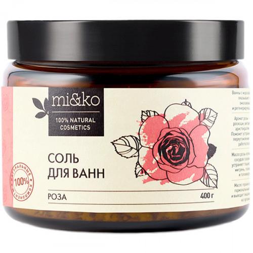 Соль для ванн Роза МИКО 400 г