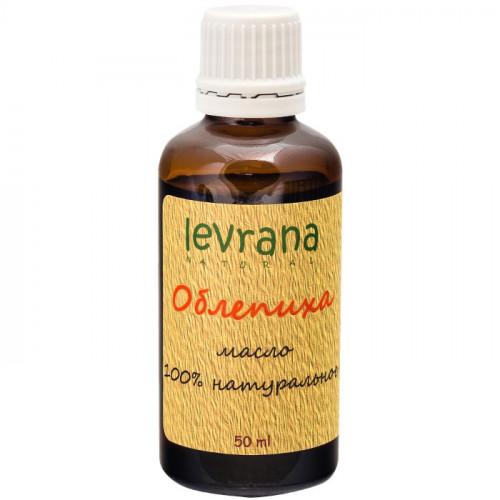 Натуральное рафинированное масло Облепихи Levrana для лица и волос 50 мл | Россия