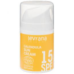 Крем солнцезащитный Календула SPF15 Levrana 50 мл