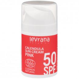 Крем солнцезащитный Календула SPF50 PINK Levrana 50 мл